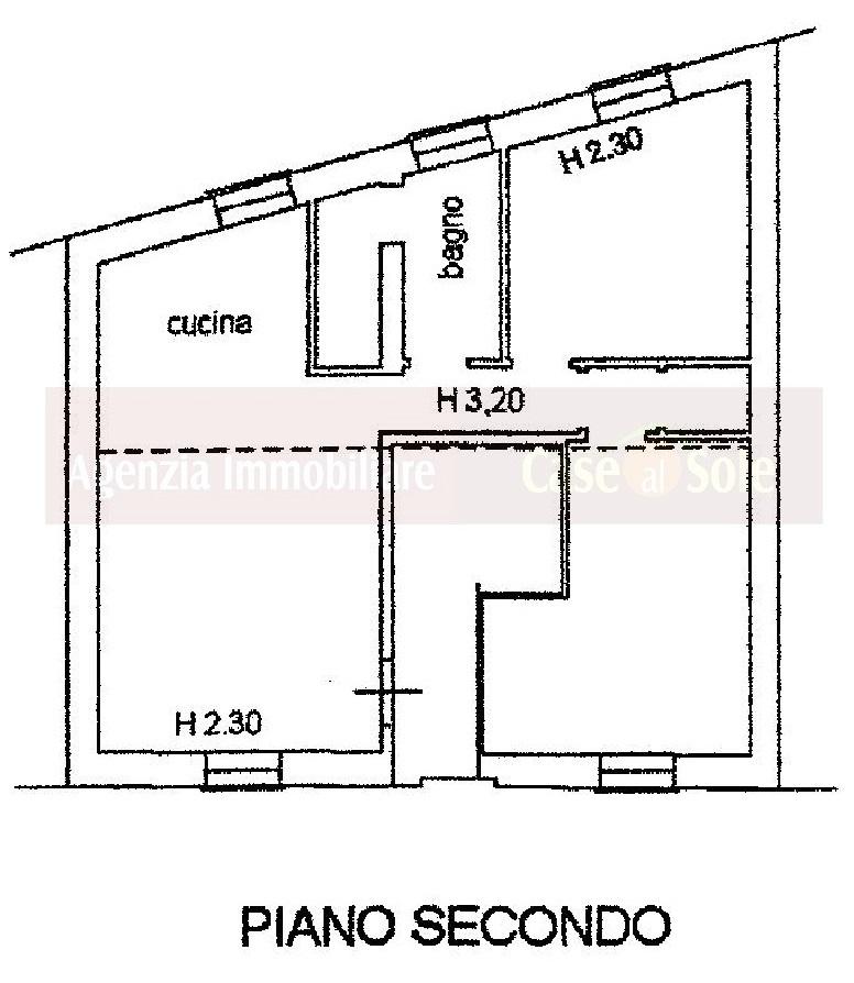 Marotta di mondolfo vendesi appartamento in palazzina di for Software di piano terra residenziale